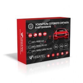 VEGATEL AV1-900E-kit автомобильный