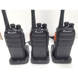 Комплект раций ТРАК-3x3 NEW (LPD/PMR) 16 кан.