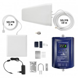 Репитер Titan-900/1800 PRO LED (2G/4G) комплект до 1000 м2